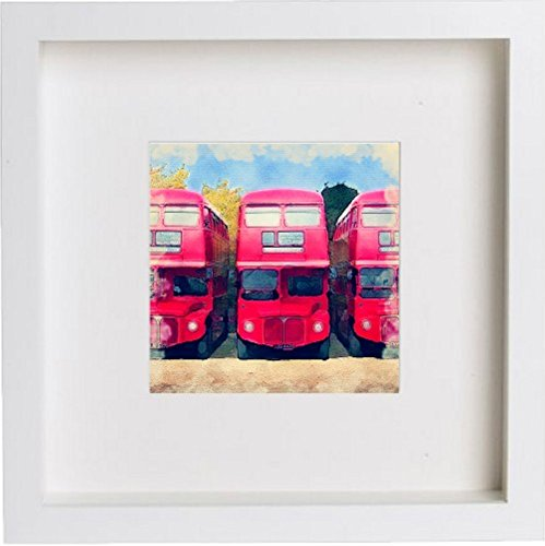 Watercolour Print of London The London Red Bus 111