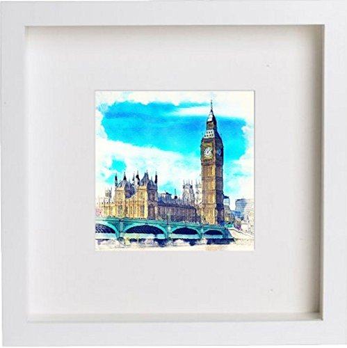 Watercolour Print of London The Palace of Westminster 115