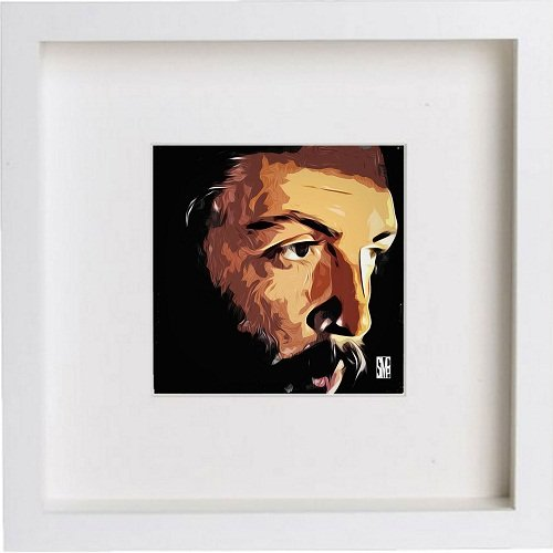 Watercolour Print of Paul McCartney 167