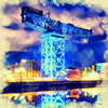 Glasgow Finnieston Crane At Night 0046 - [Lumartos]