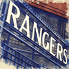 Watercolour Print of Glasgow Rangers FC Broomloan Entrance 0051