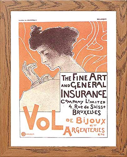 Vintage Poster The Fine Art And General Insurance Company Limited - [Lumartos]