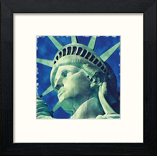 L Lumartos New York Statute Liberty 158 Contemporary Home Decor Wall Art Watercolour Print - [Lumartos]