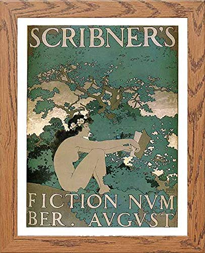 Vintage Poster Scribners Fiction Number - [Lumartos]