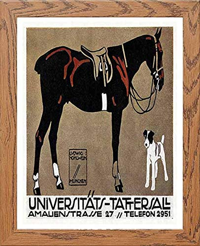 Vintage Poster Universitts Tattersall - [Lumartos]