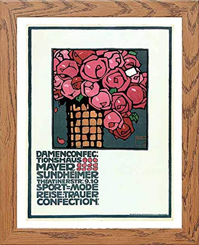 Vintage Poster Mayer Sundheimer Ladies Confections - LUMARTOS