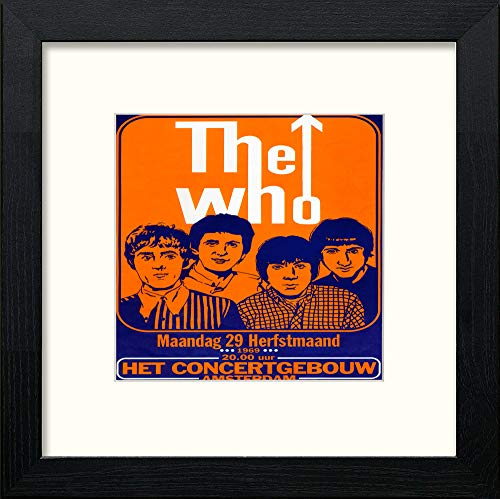 Vintage The Who Poster - LUMARTOS