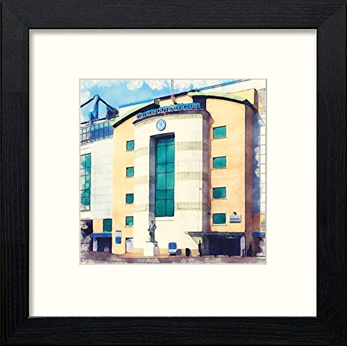 L Lumartos Chelsea FC Stadium Contemporary Home Decor Wall Art Watercolour Print - [Lumartos]