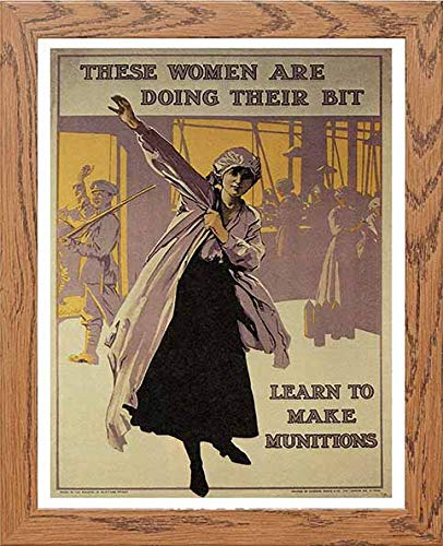 Vintage Poster These Women Are Doing Their Bit Munitions Recruiting - [Lumartos]