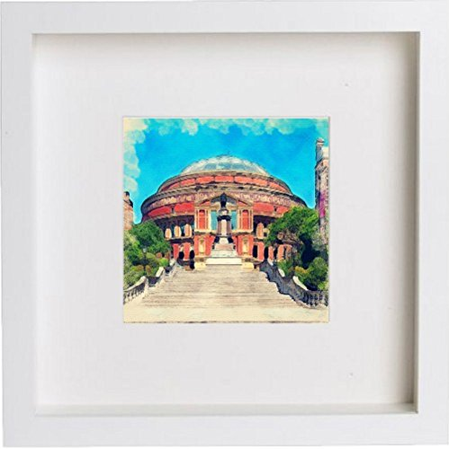 Watercolour Print of London The Royal Albert Hall 116 - [Lumartos]