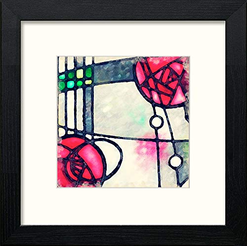 Charles Rennie Mackintosh Leaded Window - [Lumartos]