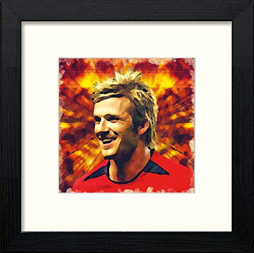 Manchester United FC Legends David Beckham - [Lumartos]