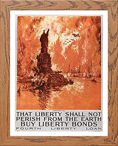 Vintage Poster That Liberty Shall Not Perish From The Earth Buy Liberty Bonds - LUMARTOS