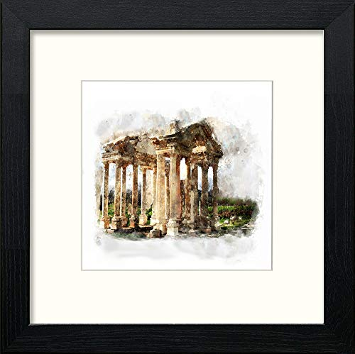Lumartos, Roma Contemporary Home Decor Wall Art Watercolour Print - [Lumartos]