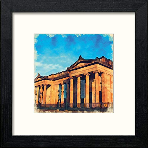 L Lumartos Edinburgh Royal Academy Contemporary Home Decor Wall Art Watercolour Print - [Lumartos]