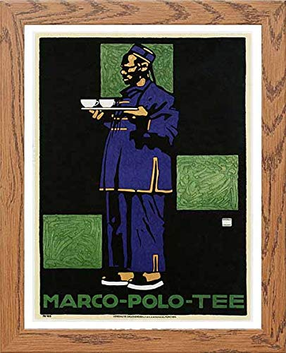 Vintage Poster Marco Polo Tee Advertising - LUMARTOS