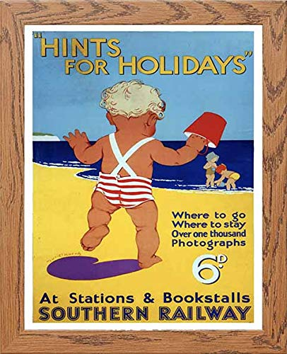 Vintage Poster Hints For Holidays Southern Railway - LUMARTOS