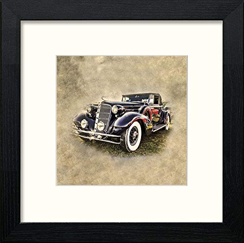 Lumartos, Classic Car Contemporary Home Decor Wall Art Watercolour Print - [Lumartos]