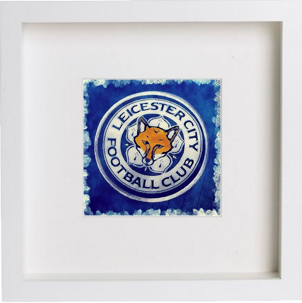 Print of Leicester City Football Club Crest Badge 0095 - [Lumartos]