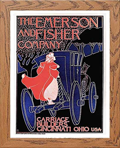 Vintage Poster The Emerson And Fisher Company Carriage Builders - LUMARTOS