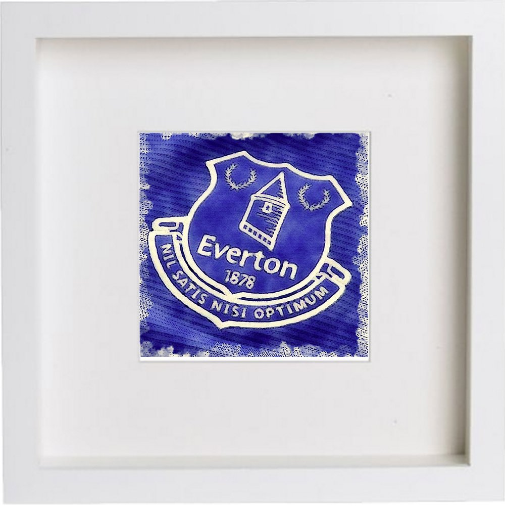 Everton Football Club Crest Badge 0037 - LUMARTOS