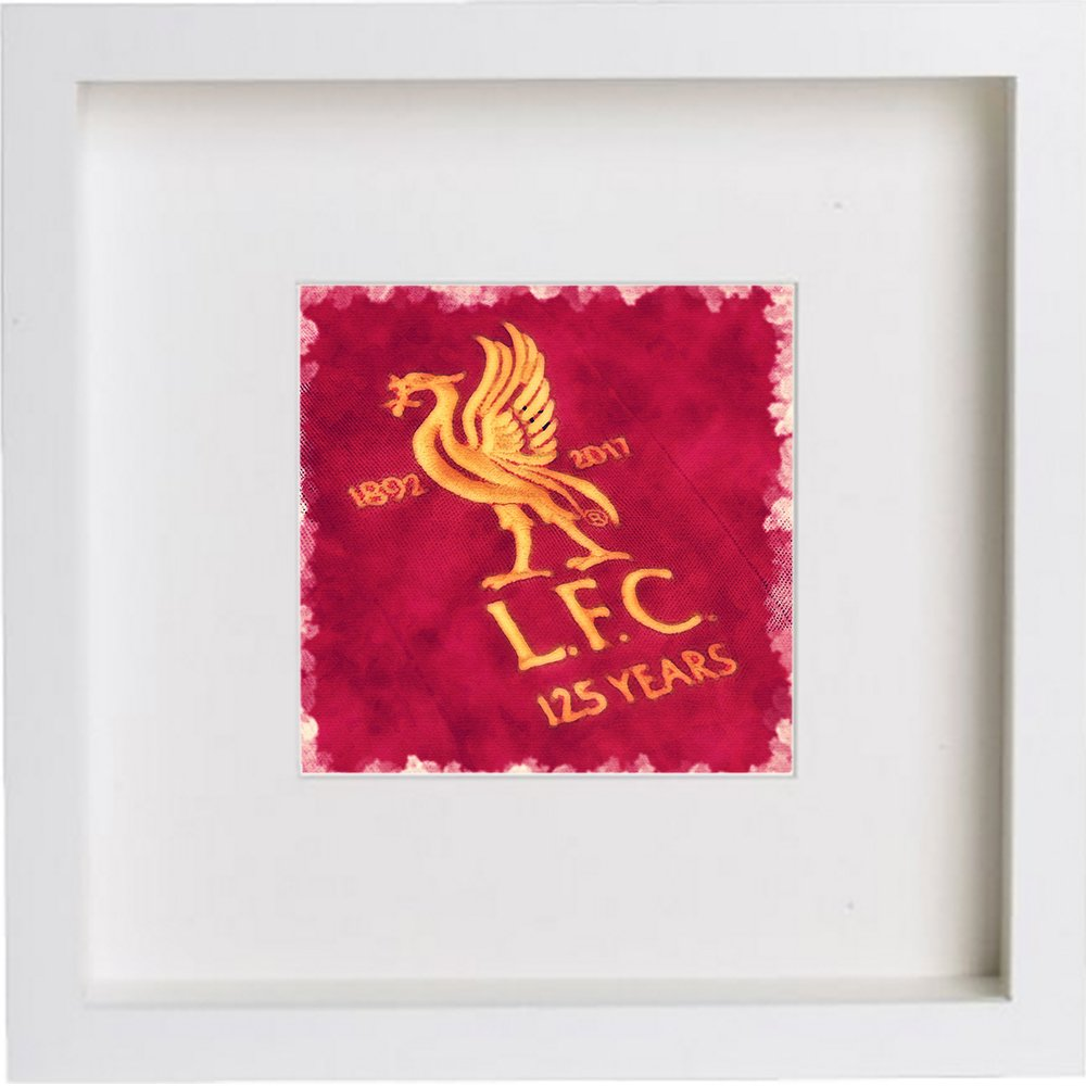 Watercolour Print of Liverpool Football Club Crest Badge 98