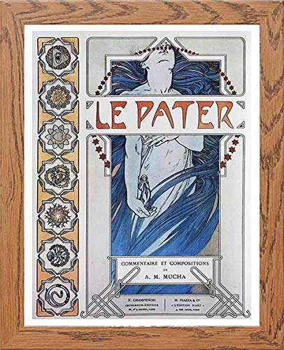 Vintage Poster Alphonse Mucha Le Pater 1899a - LUMARTOS