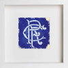 Glasgow Rangers Football Club Scroll Crest Artwork 0061 - LUMARTOS