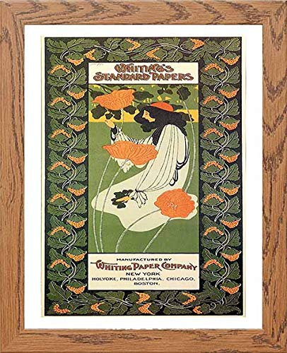 Vintage Poster Whitings Standard Papers - [Lumartos]