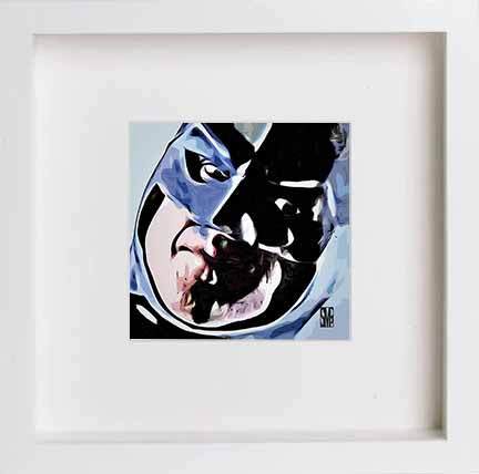 Watercolour Print of Batman 0008