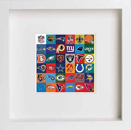 Watercolour NFL Team Logos 0284