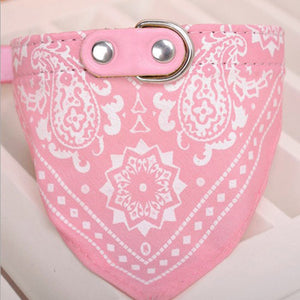 1Pc Pet Scarf Collar Adjustable Bandana r