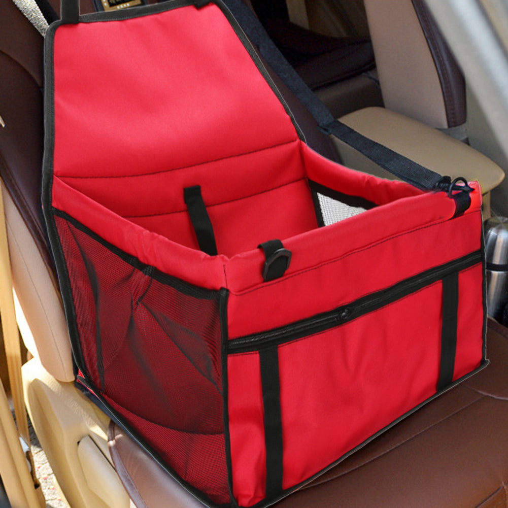 Pet Carrier Car Seat Safe Carry Waterproof