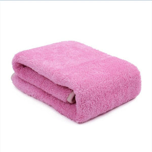 Paw Print Soft Warm Fleece pet blanky