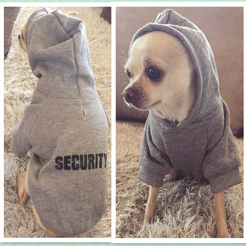 Security Dog hoodies, various sayings and prints. Camo, black, white , green