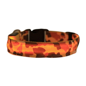 Amazing Epic New LED Safety Collar - 6 Camo Print Colors To Choose From