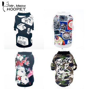 Print collection  Breathable Pet Clothing