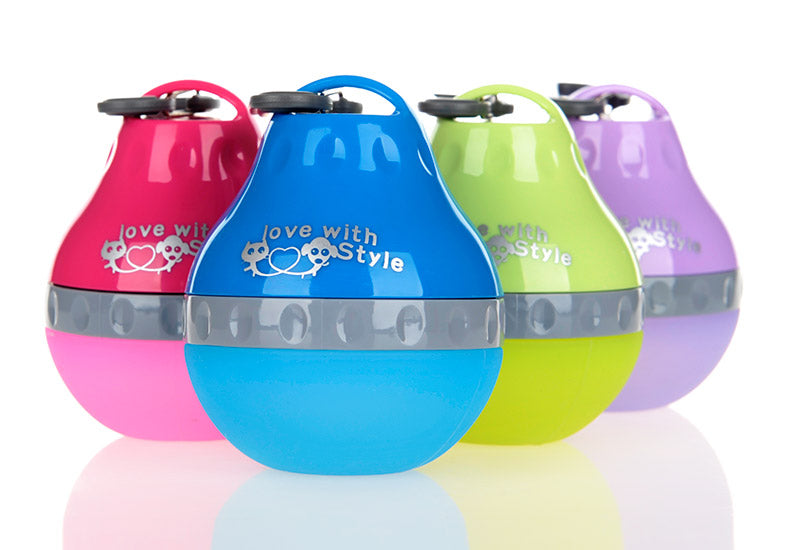 Awesomely Cute Portable Silicone Drinking Fountains