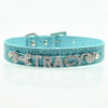 Crystal Crocodile DIY Name Pet Collar