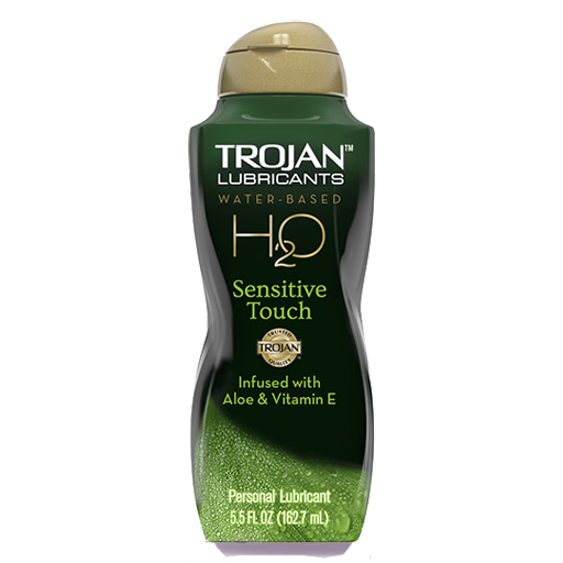 Lubricante Trojan H2O Sensitive Touch™
