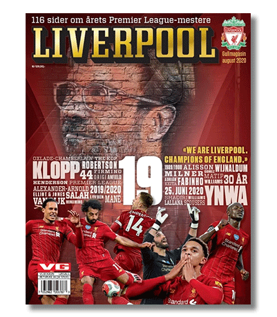 Liverpool Gullmagasin 2020