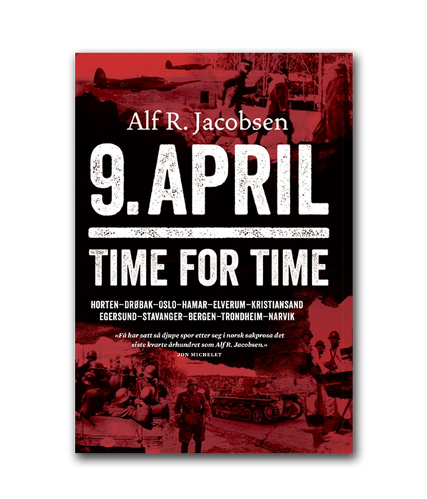 9.april. Time for time. av Alf R. Jacobsen