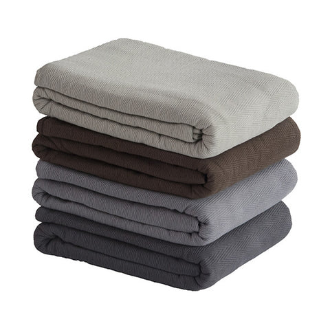 Luxurious King Egyptian Cotton Blanket 2 Main