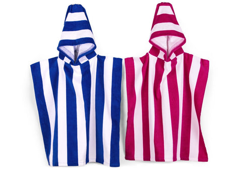 Funstripe Hooded Kids Poncho 1 Main