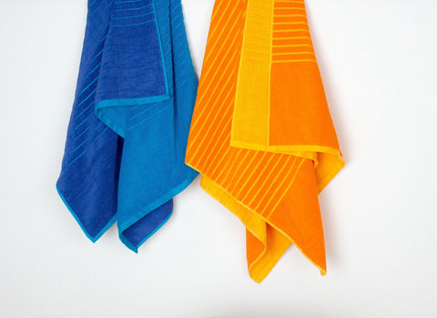 Summer Daze Reversible Pool & Beach Towel - Alluretex Wholesale Towels