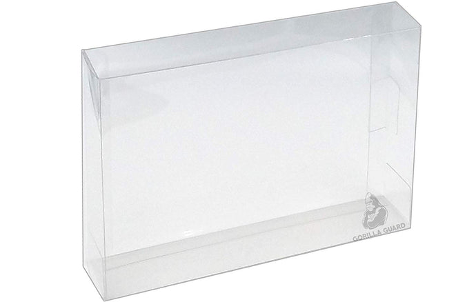 Game Box Protectors for SNES Super Nintendo Plastic Display Case