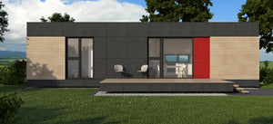 Net Zero Container Home Building