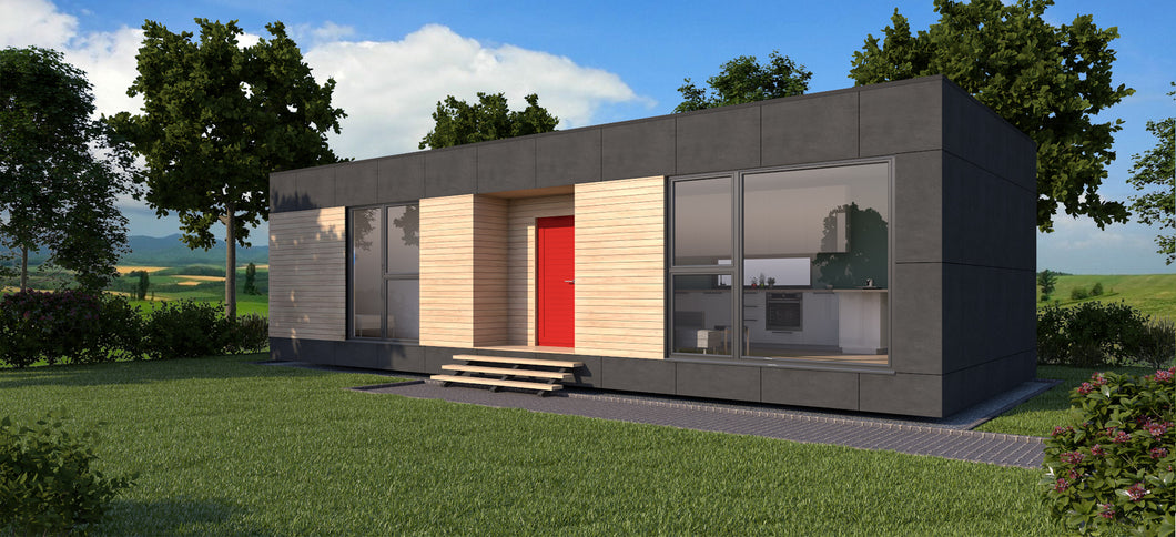 Net Zero Energy Modular Home