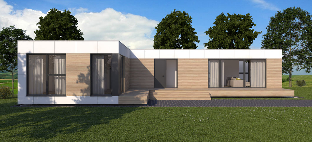 Environmentally Friendly Modular Home