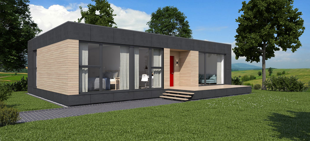 Eco Container Home Building | Zero Energy